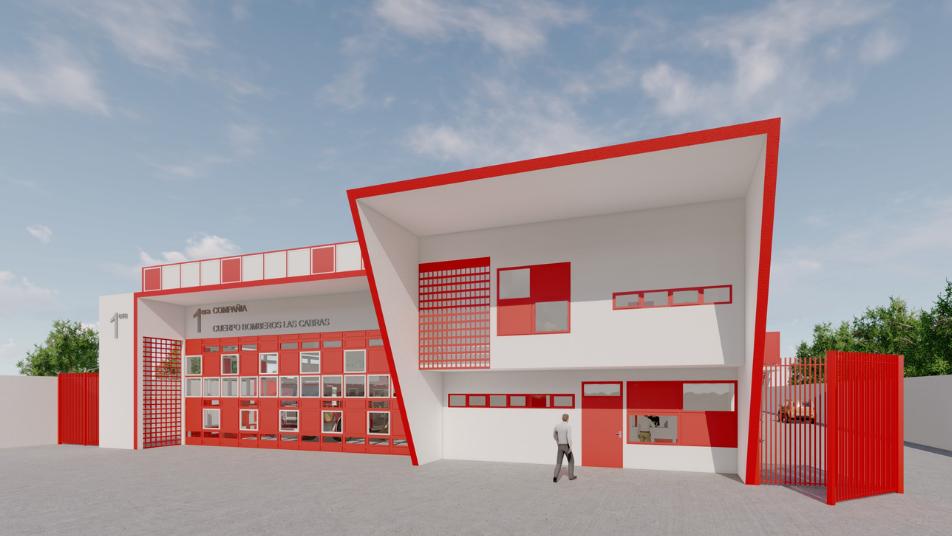 Gestión de proyectos y financiamiento para los cuarteles  de los Cuerpos de Bomberos de la Sexta Región
