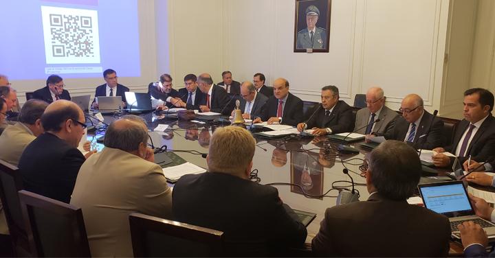 Directorio Nacional de Bomberos de Chile realizó sesión ordinaria Nº 394
