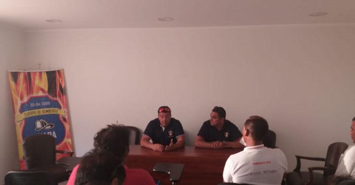 Consejo Regional de Cuerpos de Bomberos de Tarapacá realizó reunión ordinaria