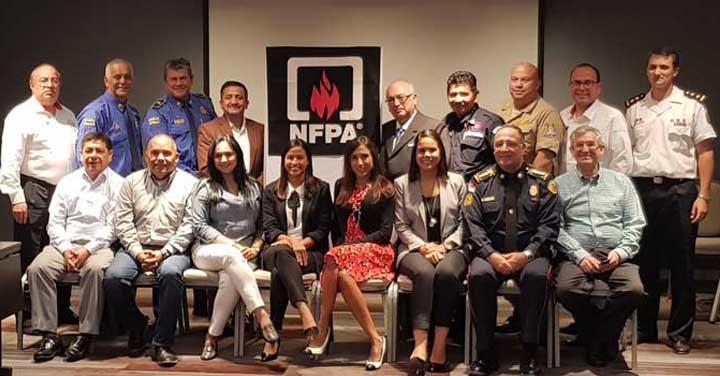 Presidente Nacional participó en Workshop Latinoamericano 2017 organizado por la NFPA