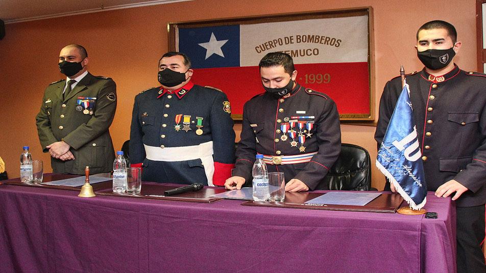 Décima Compañía de Bomberos cumplió 23 años sirviendo a la localidad de Labranza