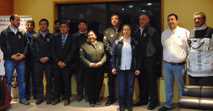 Entrega de vehículo menor a Cuerpo de Bomberos de Puerto Aysén