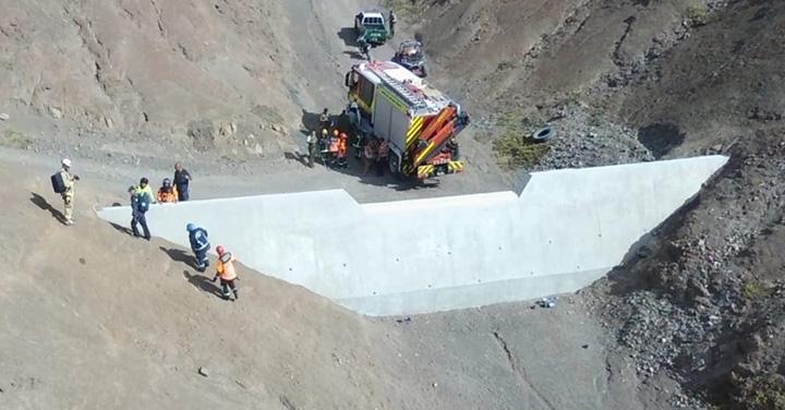 Bomberos de Antofagasta rescata a tres personas extraviadas en los cerros