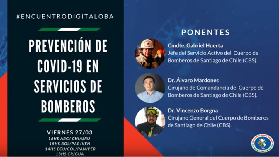 Más de 5.500 personas participaron del 1º Encuentro Digital OBA sobre prevención de COVID-19
