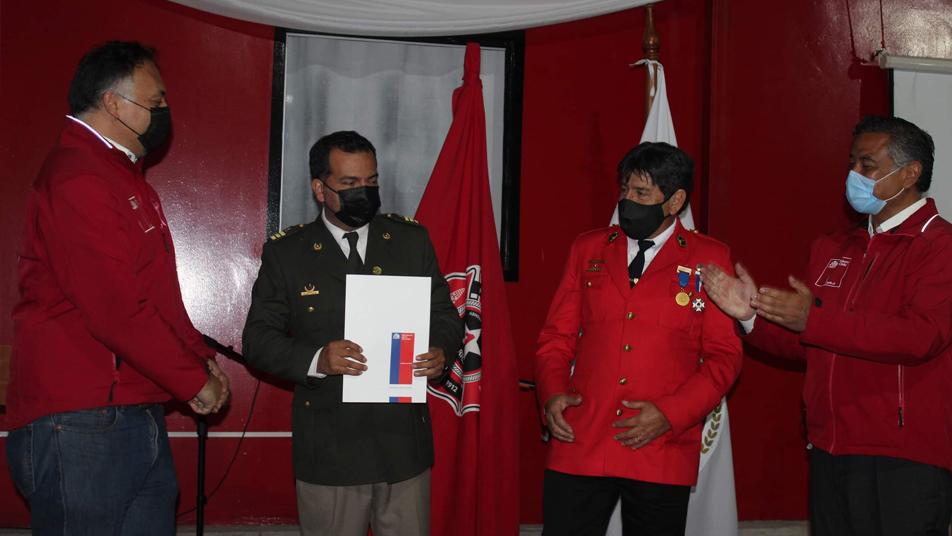 Ministerio de Bienes Nacionales entregó terreno a Primera Compañía de Arica