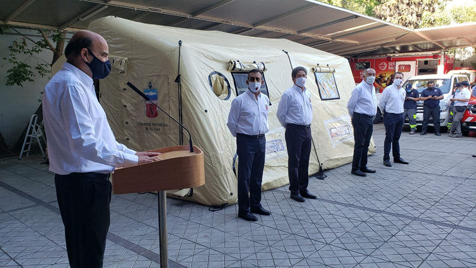 Grupo Usar Ñuñoa recibió material para Campamentación y Carro de Arrastre