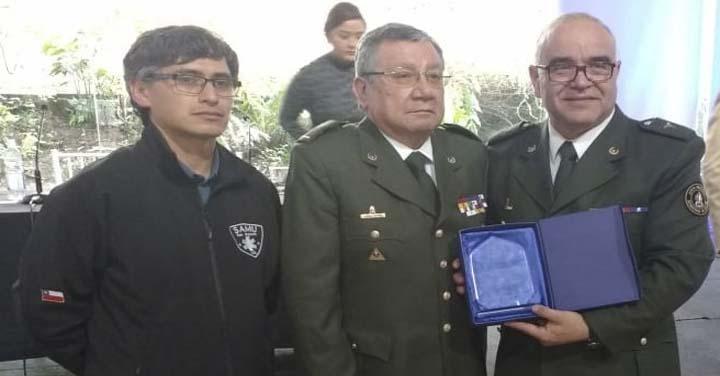 Reconocimiento al DMN por 20 años de programa RCP de Bomberos de Chile