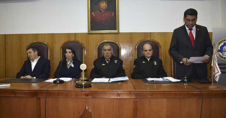 Autoridades de Bomberos participaron de reunión con Intendenta Karla Rubilar