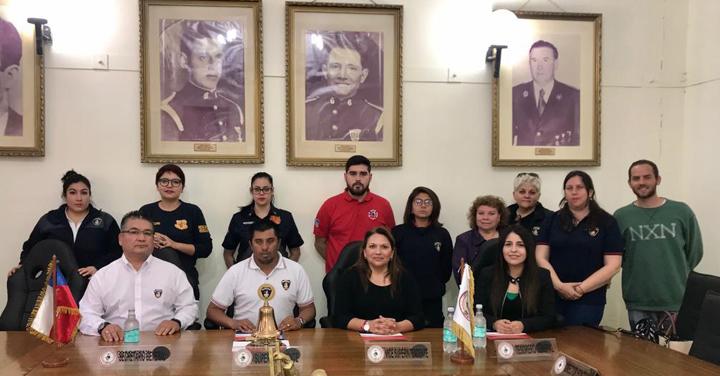 Cuerpo de Bomberos de Antofagasta creó la primera Comisión de Género