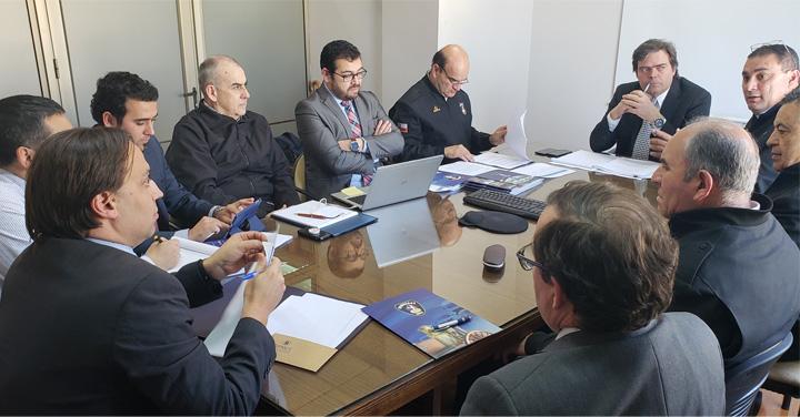 Directiva Nacional de Bomberos de Chile se reunió con la DIPRES por presupuesto 2019