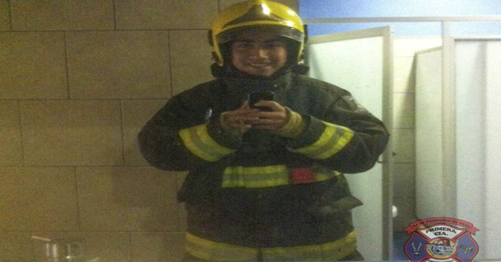 Bomberos de Chile lamenta sensible fallecimiento de cadete del CB de Pichilemu