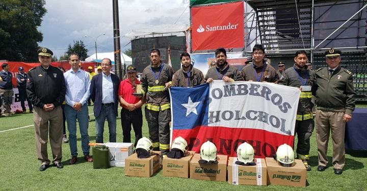 Desafío Bomberos de Chile Zona Sur 2018 tiene ganadores: Pancho de Chol Chol y  Pasteninas Unidas por Benja