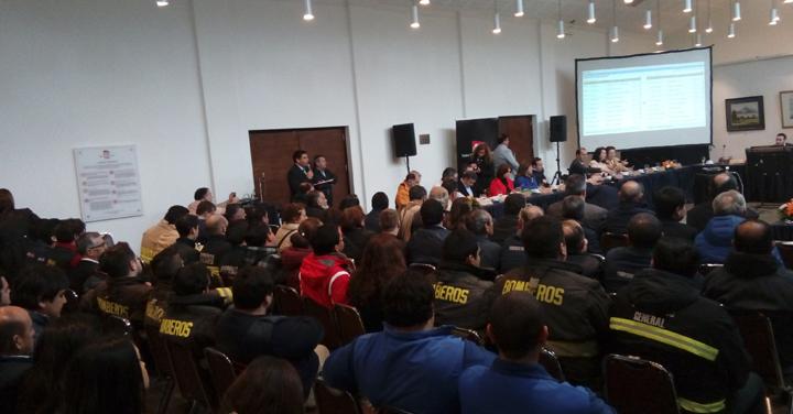 Cuerpos de Bomberos de Ñuble votaron proyecto de Adquisición y Reposición de carros Forestales