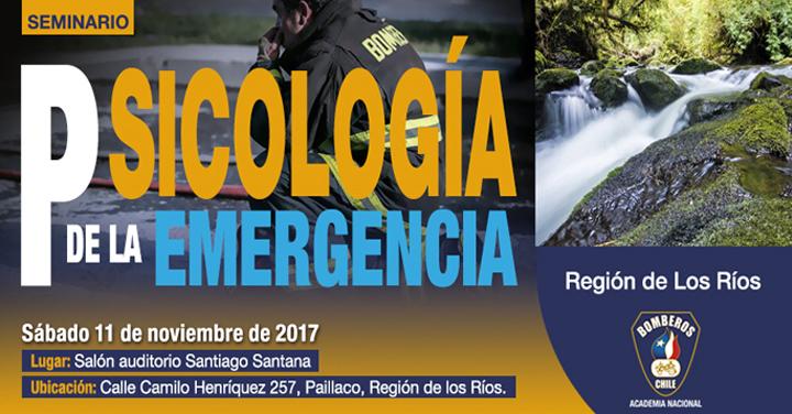 Participa en el Seminario Psicología de la Emergencia