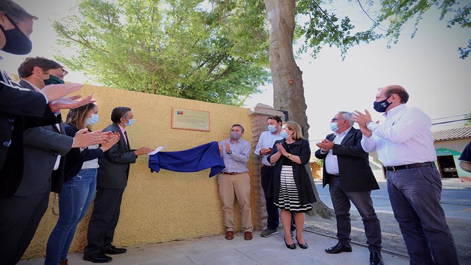 Inauguran ampliación del Cuartel de la Primera Compañía de Peralillo