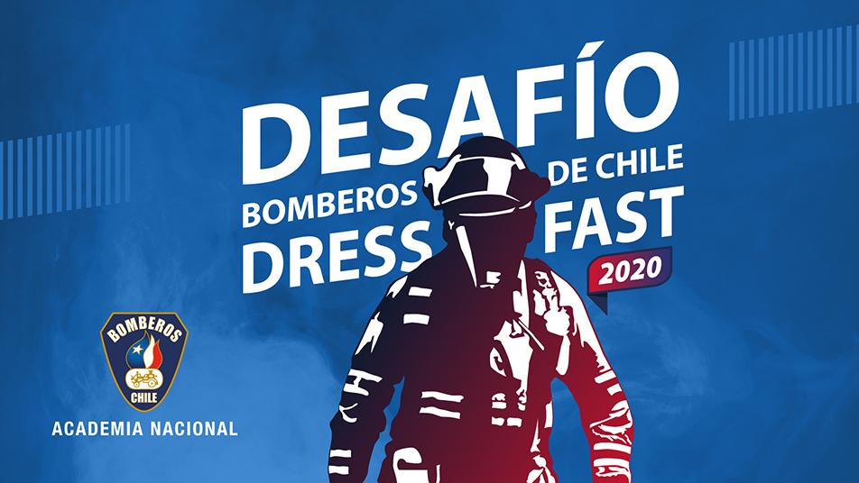 """Comienza el mayor Desafío de Bomberos de Chile """"Dress Fast 2020"""""""