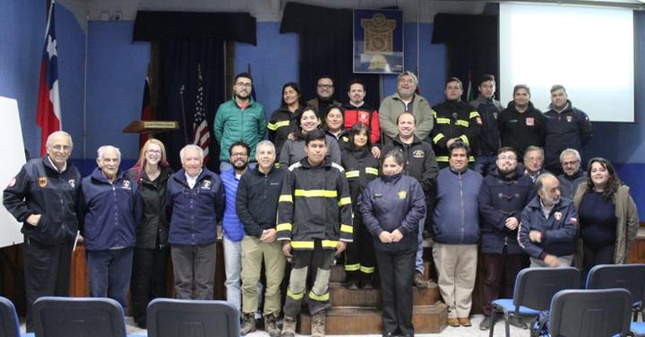 Fundación Cultural y Deportiva de Bomberos realiza capacitación en San Felipe