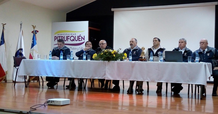 La Araucanía: Presidente de Bomberos asistió a Asamblea Regional y a la Cuenta Pública