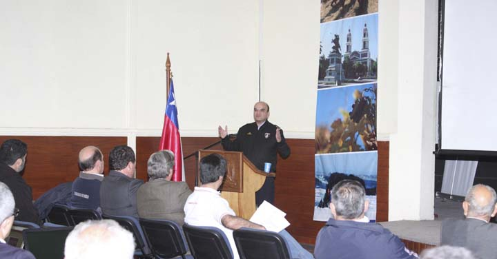Presidente Nacional de Bomberos participó de reunión con Directorio General del CB de Rancagua