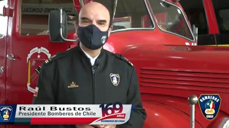 Saludo del Presidente Nacional de Bomberos de Chile al Sistema Nacional de Operaciones