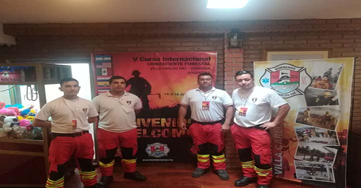 Bomberos de Constitución se capacitan en Argentina