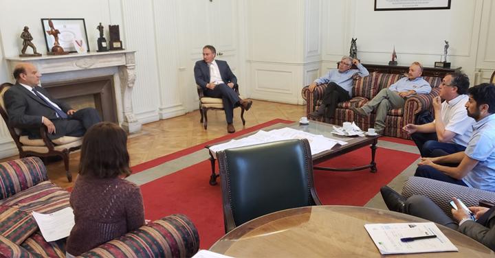 Presidente Nacional se reúne con Superintendente del CB de Malalhue y Alcalde de Lanco
