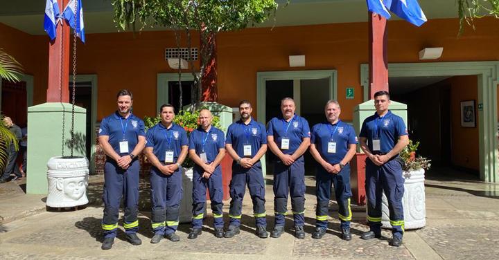 Grupo USAR BoCH participa en el I Simulacro Regional de Asistencia Humanitaria en Nicaragua
