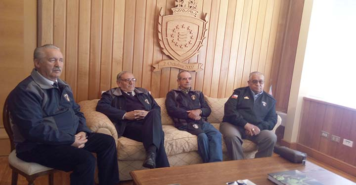 Consejo Regional de Los Rios se reunió con Intendente Regional