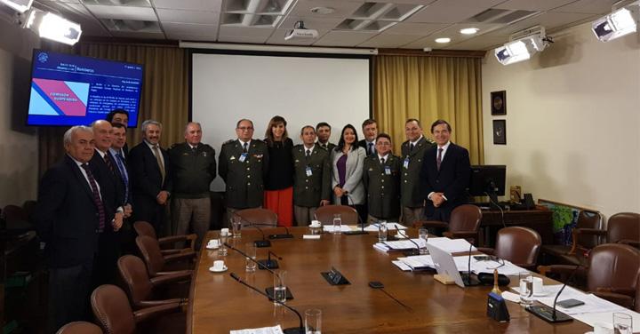 Comisión de Bomberos de la Cámara de Diputados recibió al Consejo Regional de Ñuble