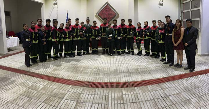 Brigada Juvenil de San Antonio celebró su aniversario 19