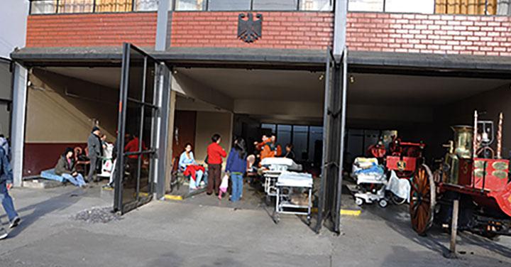 Instalarán placa para conmemorar el día en que el cuartel Germania de Temuco se convirtió en hospital de campaña