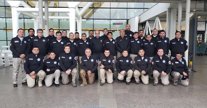 Comandantes de la Región Metropolitana viajaron a capacitarse a Estados Unidos