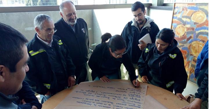 Sistema Nacional de Operaciones (SNO) realizó jornada de trabajo en la Araucanía