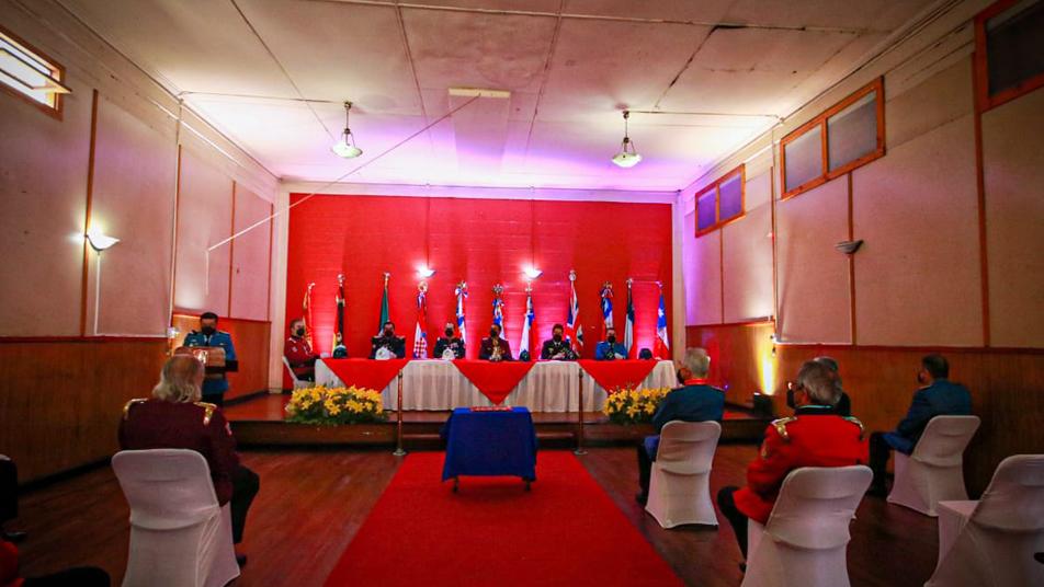 Aniversario 145 de Bomberos de Iquique se realizó a través de plataforma virtual