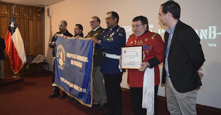 Grupo USAR Cuerpo de Bomberos de Valparaíso recibió su acreditación nacional