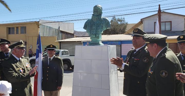 Bomberos de Diego de Almagro homenajearon a Álvaro Plaza Ramos