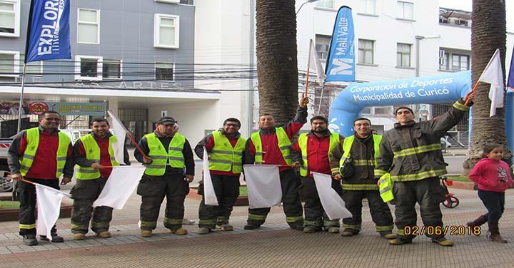 Primera Compañía de Curicó realizará variadas actividades por su aniversario