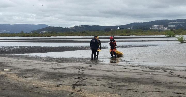 Se activa Sistema Nacional de Operaciones de Bomberos de Chile en búsqueda de joven en Chiguayante