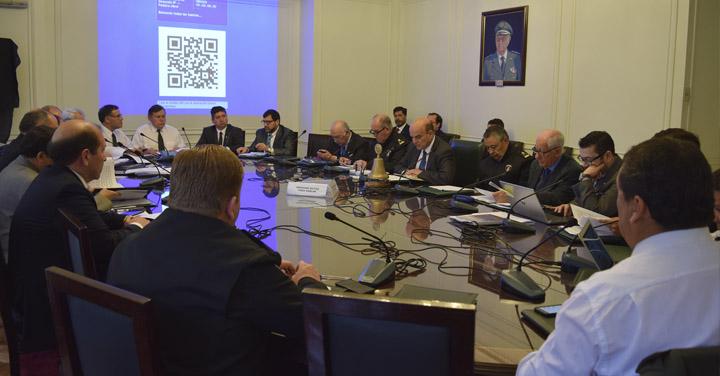 Realizan sesión N° 398 del Directorio Nacional de Bomberos de Chile