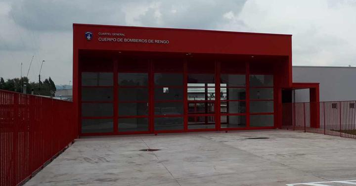 Transmisión online viernes 12: inauguración Cuartel General de Rengo