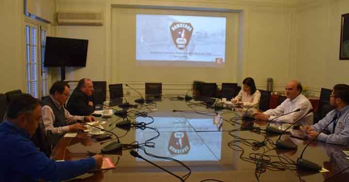 Reunión de la Fundación Cultural y Deportiva Bomberos de Chile