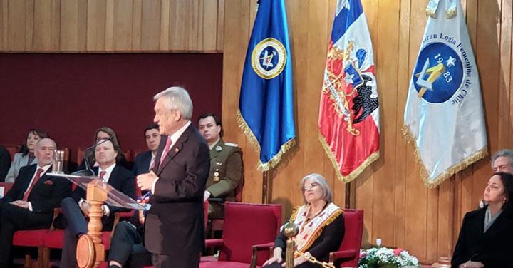 Bomberos participó en ceremonia Fraternitas Republicana de la Gran Logia de Chile
