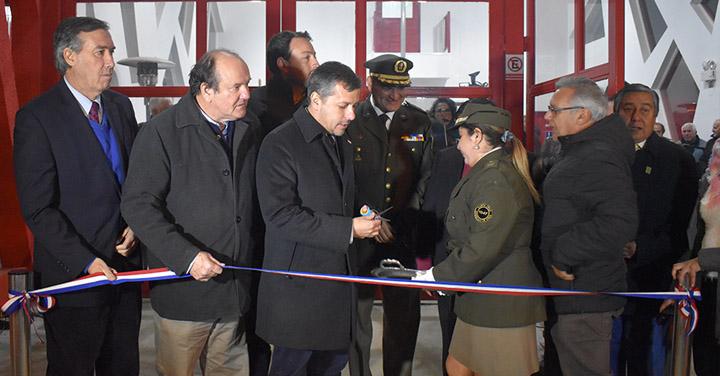 Quinta Compañía del Cuerpo de Bomberos de Santa Cruz inaugura nuevo cuartel
