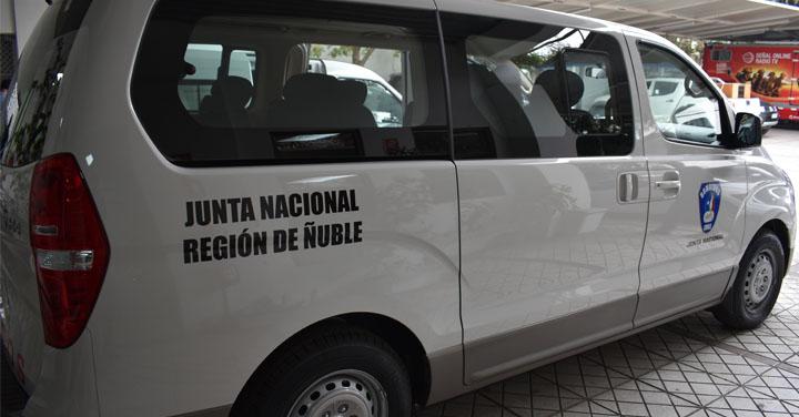 Consejo Regional de Ñuble recibió nuevos vehículos