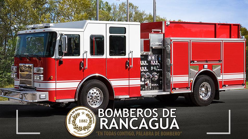 Pierce se adjudica licitación para nuevas unidades en Bomberos de Rancagua