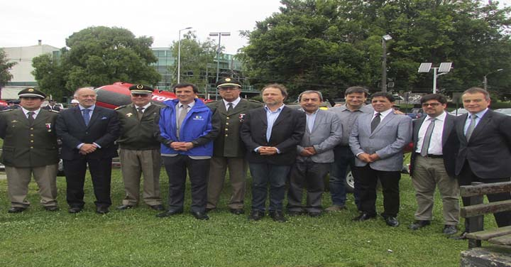 Consejo Regional de Los Ríos entregó equipamiento de Rescate Subacuático