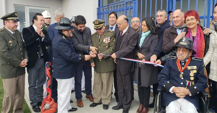 Se inauguró cuartel de la Segunda Compañía de Talcahuano