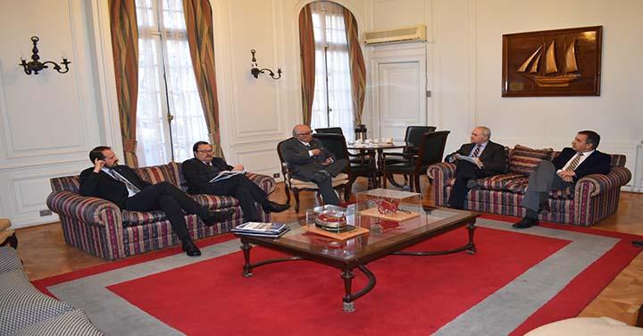 Presidente Nacional se reunió con directivos de la Academia Nacional de Estudios Políticos y Estratégicos