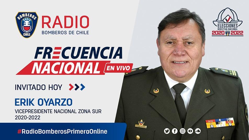 Entrevista a Erik Oyarzo, Vicepresidente Nacional Zona Sur por lo que resta del período 2020 – 2022