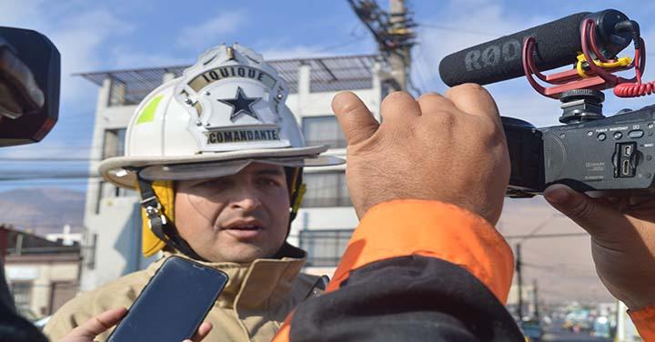 Bomberos de Iquique participará en el Día del Patrimonio